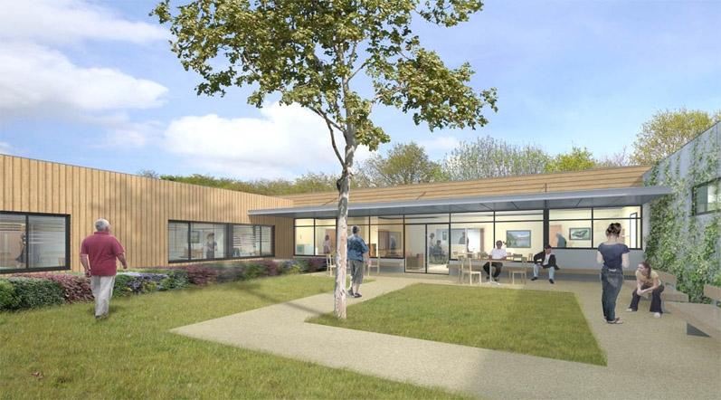 mostini mostini architectes associ s maison d 39 accueil sp cialis e. Black Bedroom Furniture Sets. Home Design Ideas