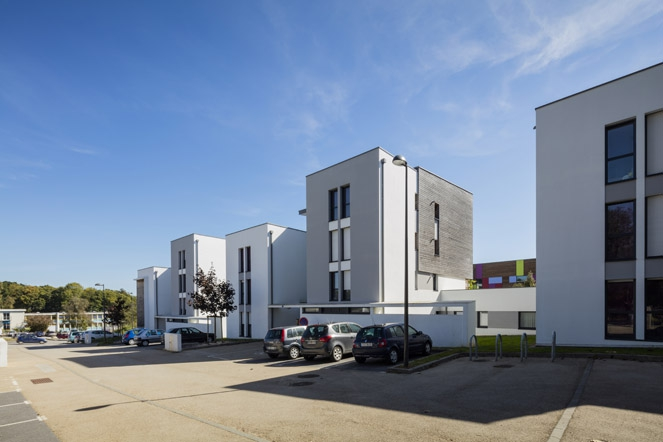 mostini mostini architectes associ s 26 logements collectifs. Black Bedroom Furniture Sets. Home Design Ideas